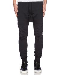 Drifter Black Transmit Sweatpants - Lyst