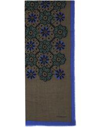 Burberry Prorsum Prorsum 100x180 Geometric Floral Stole - Lyst