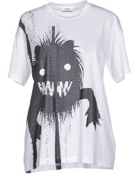 Jil Sander T-Shirt white - Lyst