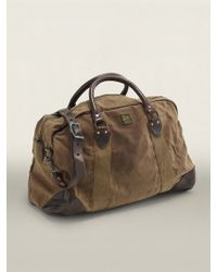 RRL Fairbanks Canvas Duffel Bag - Lyst