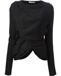 Givenchy Draped Top - Lyst