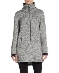 CALVIN KLEIN 205W39NYC - Marled Hooded Performance Jacket - Lyst