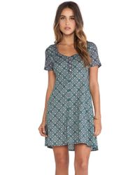 Tigerlily Grimaud Paisley Dress - Lyst