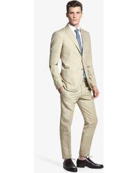 Mango Man Cotton Linen-Blend Suit Blazer - Lyst