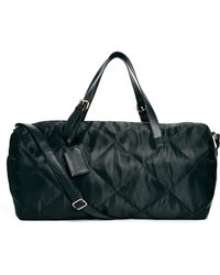 Asos Quilted Nylon Holdall - Lyst