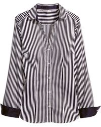 H&M Shirt in Stretch Fabric - Lyst