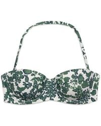 Tory Burch Issy Underwire Top - Lyst