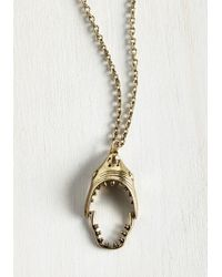 Zad Fashion Inc. - I'm Jaws Sayin' Necklace - Lyst