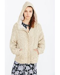 BDG | Hooded Sweater Coat | Lyst