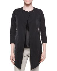 Lafayette 148 New York Shelby Chic Topper Jacket - Lyst