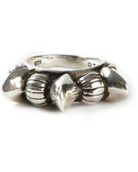 Pamela Love Engraved Ring - Lyst