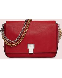 Proenza Schouler Red Small Courier - Lyst