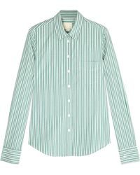 Band Of Outsiders Barre Easy Shirt with Monogram - Lyst