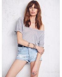 We The Free By Free People Womens Free Fallin Tee - Lyst