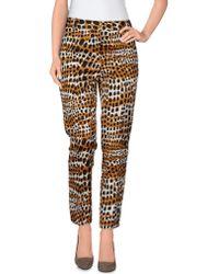 Celine Casual Pants beige - Lyst