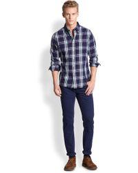 Gant Rugger Cotton Check Sportshirt - Lyst