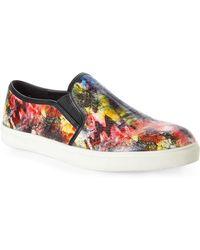 Steve Madden Red Ebony Slip-On Sneakers - Lyst