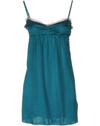 Odd Molly Green Short Dress - Lyst