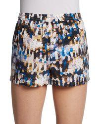 Twelfth Street Cynthia Vincent - Silk Drawstring Shorts - Lyst