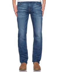 7 For All Mankind The Luxe Performance Straight - Lyst