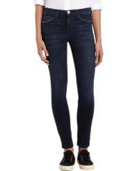 Current/Elliott Crosby High Waist Skinny Jeans - Lyst