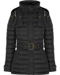 Burberry Brit - Quilted Shell Coat - Lyst
