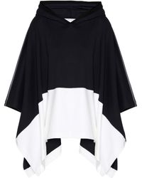 Callens - Cotton Jersey Poncho - Lyst