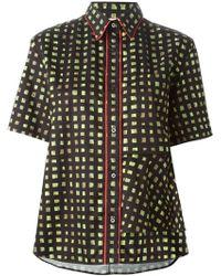 Marni Asymmetric Shirt - Lyst