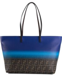 Fendi Ff Logo 'Roll' Tote Bag - Lyst