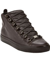 Balenciaga Arena Hightop Sneakers - Lyst