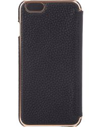 Adopted - Leather Iphone 6 Plus Folio Case - Lyst