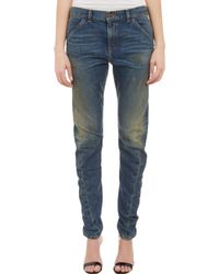 6397 Twistedseam Skinny Jeans Dirty Faded Wash - Lyst