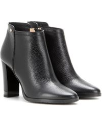 Jimmy Choo - Hart Embossed Leather Ankle Boots - Lyst