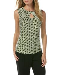 Laundry by Shelli Segal Patterned Blouse - Lyst