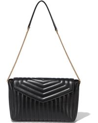 Ferragamo Medium Wave Flap Bag - Lyst
