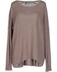 360sweater Jumper gray - Lyst