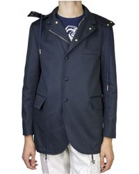 Thom Browne | Navy Hooded Jacket | Lyst