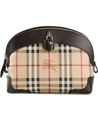 Burberry 'Haymarket Check' Shoulder Bag - Lyst
