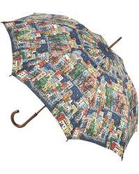 Cath Kidston - Town Houses Kensington Umbrella - Lyst