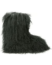 DSquared² Mongolian Fur Snow Boot - Lyst