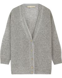 Vanessa Bruno Cebe Open-Knit Wool And Cashmere-Blend Cardigan - Lyst