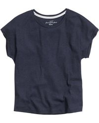 H&M Ribbed Top - Lyst