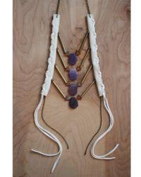 Love Leather - Royal Muse Necklace - Lyst