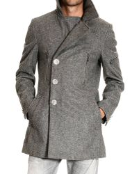 John Richmond Coat Man - Lyst
