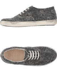Leather Crown Low-Tops & Trainers gray - Lyst