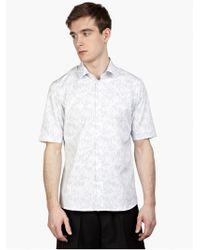Jil Sander Men'S White Artista Shirt - Lyst