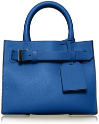 Reed Krakoff Rk40s Small Belted Leather Tote Bag - Lyst