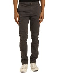 Menlook Label Noa Anthracite Grey Chinos - Lyst