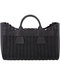 Paco Rabanne 14#01 Cabas Tote black - Lyst
