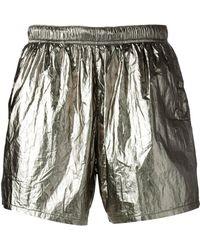 Our Legacy - Metallic Swim Shorts - Lyst